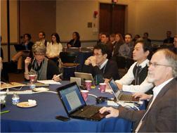 写真:ORCIDミーティング参加時の様子
